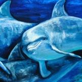 dolphin florencia burton florencia-burton-visionary art dolphins painting dolphins art