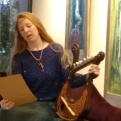 florencia-burton-luthier del bosque lira celta bardica vikinga poesia sumergida-visionary art exhibition