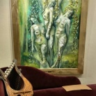 florencia-burton-martin gray luthier del bosque lira celta visionary art exhibition