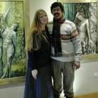 Martin Gray y Florencia Burton