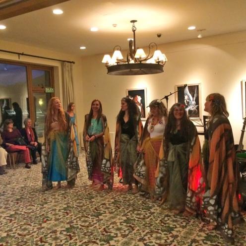 florencia burton mujeres mariposa visionary art evento dia internacional de la mujer llao