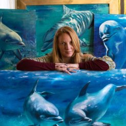 florencia-burton-visual-artis-dolphins-paintings