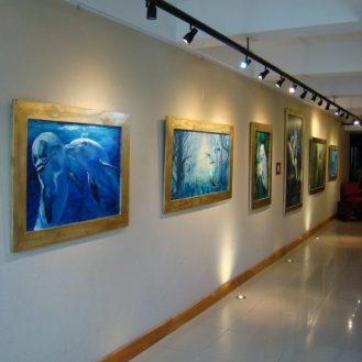 original art dolphins florencia burton virtual gallery adena tryon