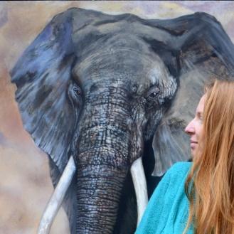 florencia burton and the elephant wisdom keeper