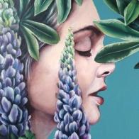 purple-lupins--selina-murales-pintura-mural-florencia-burton-muralista-flora-patagonica