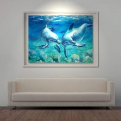 living-preview-white-reef-lights-florencia-burton-dolphins-painting-art-water-kauai