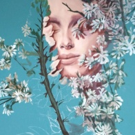pink-lupinsIII-process--selina-murales-pintura-mural-florencia-burton-muralista-flora-patagonica