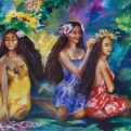 ancestral-kauai-isle-women-wahine-florencia-burton-visionary-art-hawaii