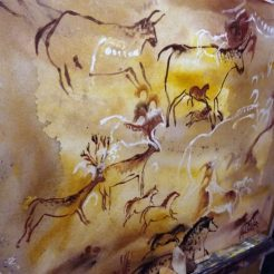 rupestre-cave-painting-recreation florencia burton