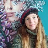 pink-lupinsII--selina-murales-pintura-mural-florencia-burton-muralista-flora-patagonica