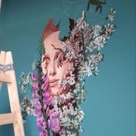 pink-lupinsII-processI--selina-murales-pintura-mural-florencia-burton-muralista-flora-patagonica