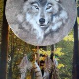 florencia burton tambores-ceremoniales-chamanicos-lobo-luis martin gray ceremonial drum wolf