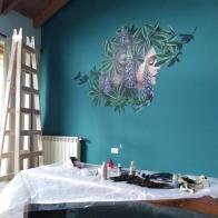 purple-lupinsI-process-selina-murales-pintura-mural-florencia-burton-muralista-flora-patagonica