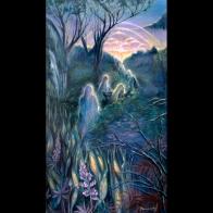 Luz en los Andes Florencia Burton visionary fine art