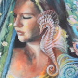 detail from artwork underwater symphony florencia burton visionary fine art return to nature