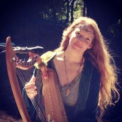 florencia burton visionary fine art return to nature patagonia argentina magic harp