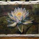 Luz $5.000.- Acrilico sobre lienzo en bastidor sin marco, Medida: 70 x 42 cm aprox.