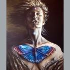 the-awakening-florencia-burton florencia burton visionary fine art return to nature patagonia argentina