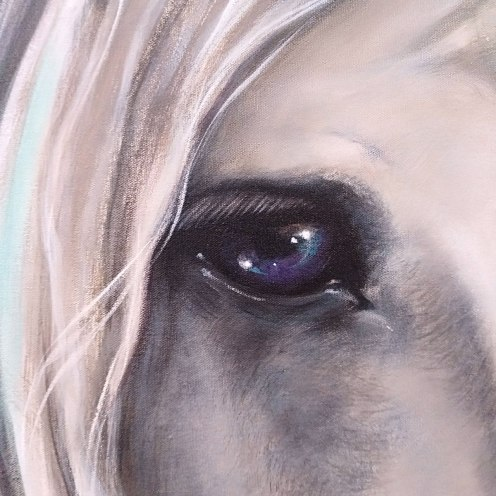 CRISTALLINE unicorn-eye-detail