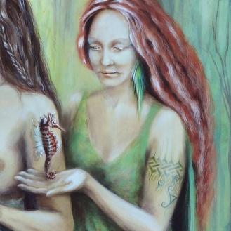 seahorse-fantasy-art-forest-wisdom--magical-art-detalleISLAESMERALDA-libelulas-florencia-burton-artist2