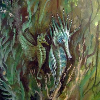 seahorse-magical-art-detalleISLAESMERALDA-libelulas-florencia-burton-artist2
