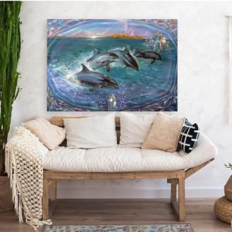 wall art florencia burton ASTRALGATE-TO-OCEANA